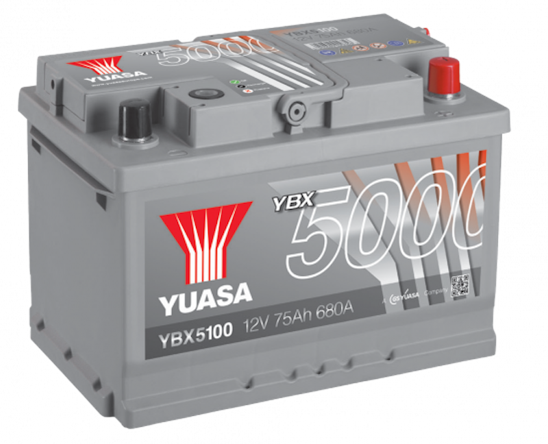 YBX5000 BATTERY FOR CARS