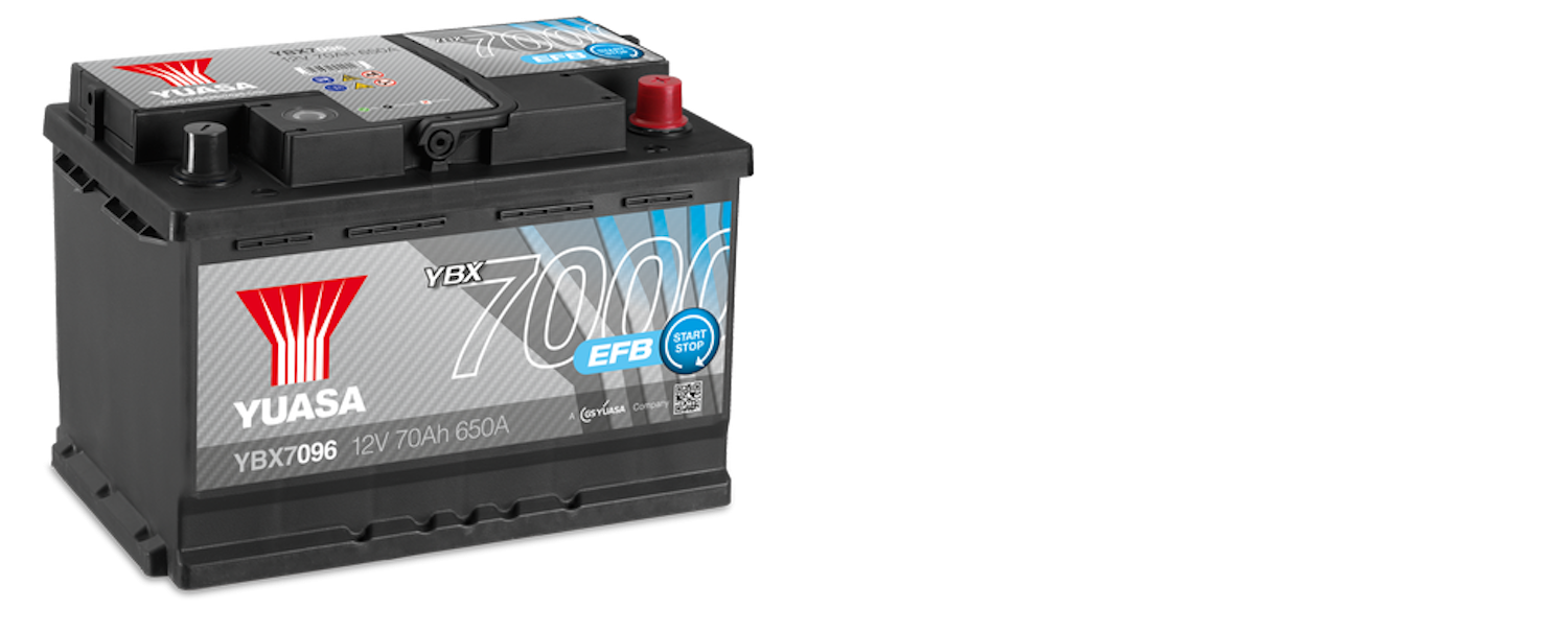 YBX7000 EFB BATTERY FOR CARS
